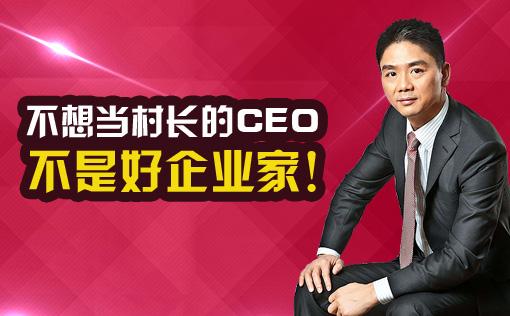 <2017世界互联网大会>刘强东:不想当村长的CEO不是好企业家!